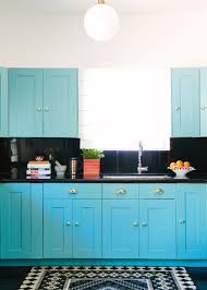 electric blue kitchen cabinets pin on kitchens