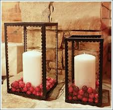 Christmas Decorations Outdoor Candles by 53 Best Candles Images On Pinterest Candle Centerpieces