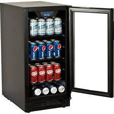 small beer fridge glass door under counter beverage refrigerator ebay