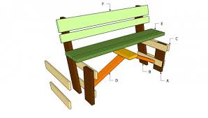 simple garden bench seat project metric version fine woodworking