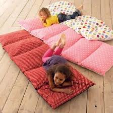 pillow beds for kids sew old pillowcases together to make floor cushions pillow cases
