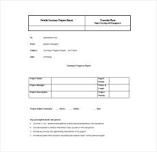 summary report template summary report templates 9 free sle exle format