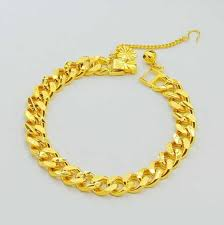 new arrival fashion 24k gp gold plated mens women jewelry new arrival fashion 24k gp gold color mens jewelry bracelet yellow