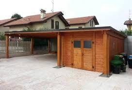 tettoia auto legno strutture a pensilina per auto