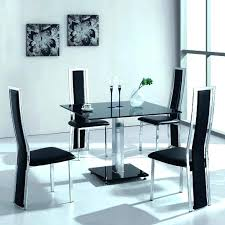 cheap dining room sets glass and black dining table mitventures co