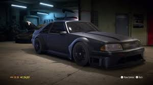 build ford mustang 2015 need for speed 2015 ford mustang foxbody 1990 1083 hp
