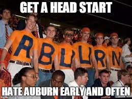 Auburn Memes - image tagged in auburn imgflip