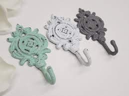 Decorative Hooks by Wall Decor Shabby Chic Decor French Parisian Nursery