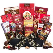 send gift basket the chocolate gift basket deluxe gourmetgiftbaskets with regard to