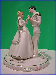 cinderella wedding cake topper cinderella s wedding day cake topper prince charming new in box w coa