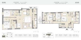 5 bedroom apartment floor plans bvlgari apartments 5 bedroom mansion floor plan