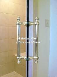 Shower Door Replacement Parts Plastic Shower Door Handle Replacement Vapor R Shower Door Knobs Chrome