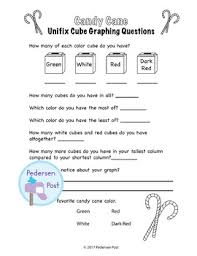 unifix graph with common questions thanksgiving theme by