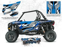 electric blue utv door graphic kit polaris rzr xp 1000 polaris rzr xp 1000 electric blue door kit