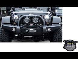 round led lights for jeep jeep wrangler jk 30w high power cree 4 inches round led fog lights