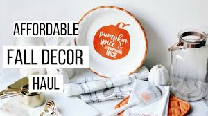 huge fall home decor haul 2017 target dollar spot decorating
