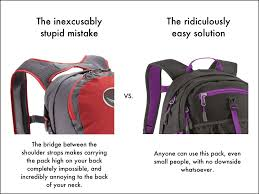 Ideas For Hanging Backpacks 5 Dumb Things Backpack Designers Need To Stop Doing U2013 Snarky Nomad