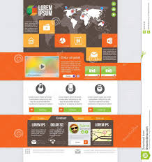 website homepage design homepage web design stock vector illustration of frame 33334246