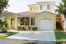 modern yellow exterior miami florida houses that can be decor with