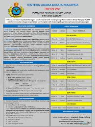 Resume Sample Untuk Kerja Kerajaan by Jawatan Kosong Terkini Jadual U0026 Pusat Temuduga Tentera Udara