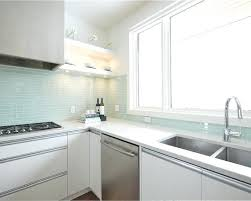 White Kitchen Tile Backsplash Glass Kitchen Backsplash Ideas Tile Alternative Apartment Therapy