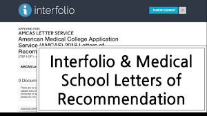 interfolio u0026 medical letters of recommendation youtube