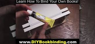 how to print and bind your own paperback book bookmaking how to make a glue bound paperback book bookmaking wonderhowto