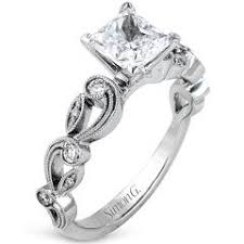filigree engagement ring diamond engagement rings with filigree and milgrain give your ring