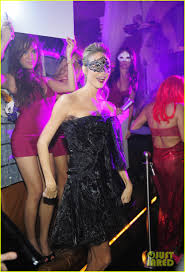 stacy keibler halloween masquerade host photo 2746773 2012