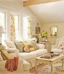 cottage livingrooms shabby chic living