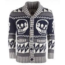 skull sweater s fly53 mens skull sweater get the label