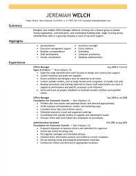 Front Desk Job Description For Resume by 6 Office Manager Job Description For Resume Resume Medical Office