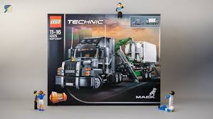 truck instructions technic 42078 mack anthem unboxing review speed build