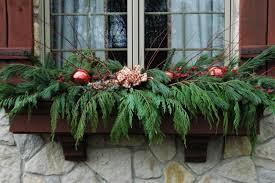 diy window flower boxes diy window box idea for christmas season add instant charm to