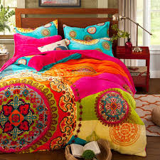 amazon com paisley bohemian bedding for t96 boho duvet