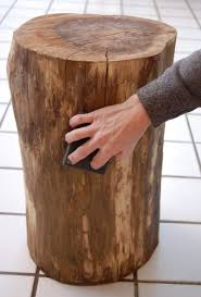 best 25 tree stump side table ideas on pinterest tree stump