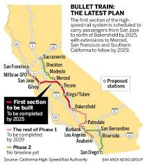 Sacramento Light Rail Schedule Bullet Train From San Jose To Fresno Silicon Valley Express