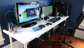 Atlantic Gaming Desk by Desk Best Gaming Desk Touch Gaming Computer Reviews