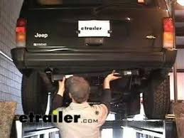98 jeep towing capacity trailer hitch installation jeep etrailer com