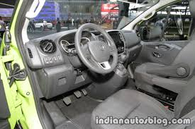 opel vivaro 2017 opel vivaro life dashboard at iaa 2017 indian autos blog