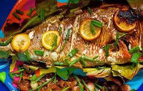 Fish Mediterranean Style Mediterranean Whole Fish Recipes Oven Roasted Spanish Mackerel