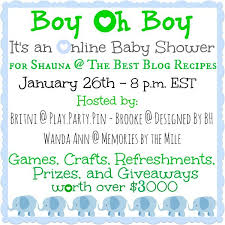 online baby shower baby shower giveaway luxe with kids