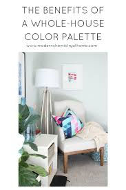 Whole House Color Scheme by A Whole House Color Palette Lessons Learned Modern Chemistry At