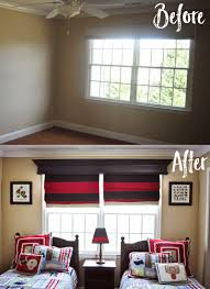 Celing Window by Remodelaholic How To Build And Hang A Window Cornice
