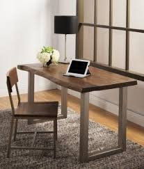 Desks For Office At Home Solid Wood Home Office Desks Foter