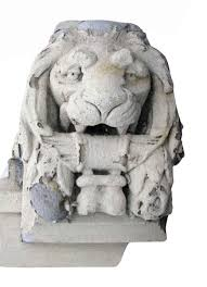 marble lion marble lion pediment olde things