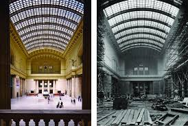 work begins on chicago union station u0027s 22 million skylight