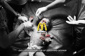 siege social mcdonald mcdonald s supports terrorists you were wondering