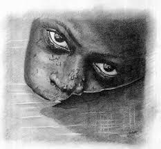 uday bhan singh artwork eyes n water original drawing pencil