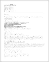 construction superintendent resume exles and sles construction resume exles apprentice plumber resume sle free